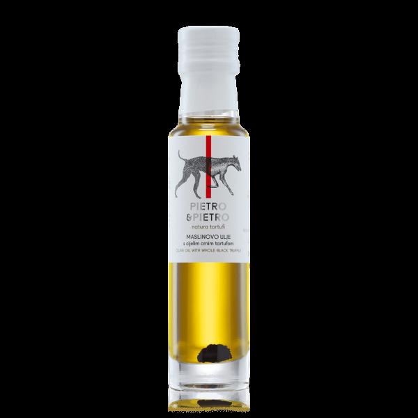 Pietro&Pietro - Maslinovo ulje s cijelim crnim tartufom
